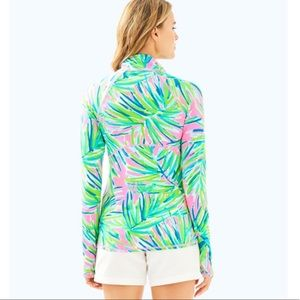 7055be978961c1 Lilly Pulitzer Tops - Lilly Pulitzer Luxletic Serena Jacket Pink Sunset